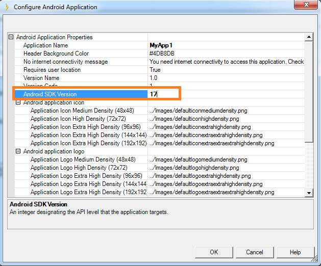 Android SDK manager package installation